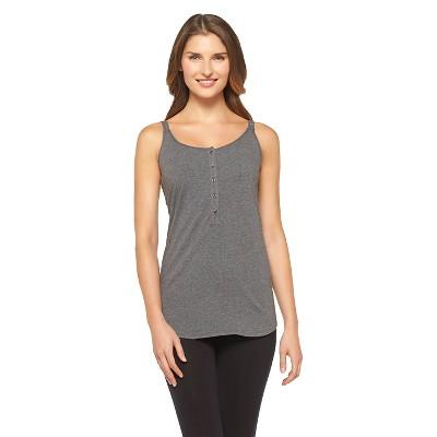 Women's Nursing Cotton Cami Dark Heather (XXL)- Gilligan & O'Malley™