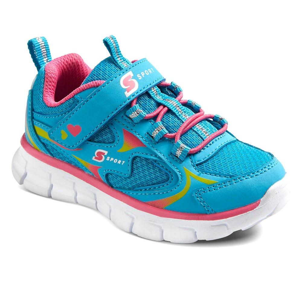 Toddler Girls Sport Designed by Skechers Washabubble Performance Athletic Shoes - Turquoise 5, Blue