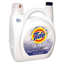 Tide Ultra Stain Release FREE Liquid Laundry Detergent 138 oz