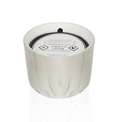 2-Wick Jar Candle Leather Mahogany 10oz - THE COLLECTION by Chesapeake Bay Candle®