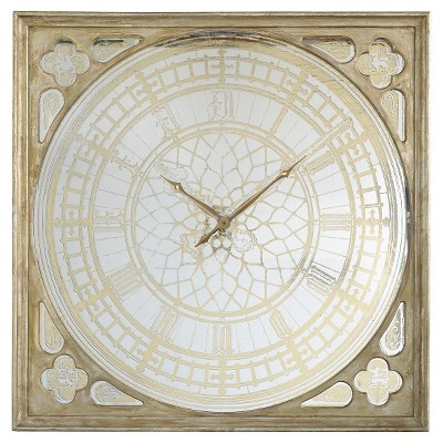 square wall clock gold patina a b home target