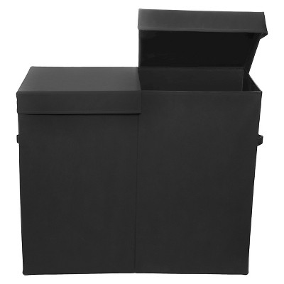 Modern Littles Folding Laundry Sorter - Black
