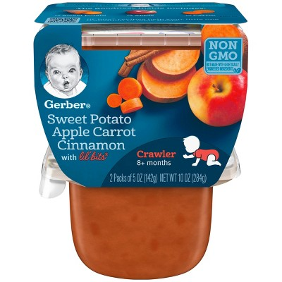 Gerber 3rd Foods Sweet Potato Apple Carrots & Cinnamon - 10oz (6 pk)