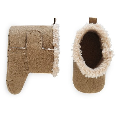 Just One You™ Made by Carter's® Baby Boys' Slipper Boot - Brown NB