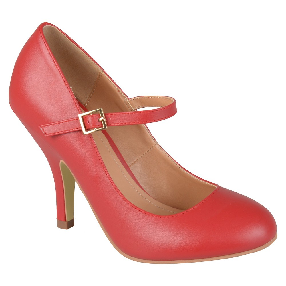 Womens Journee Collections Lezley Mary Jane Pumps - Red 8.5