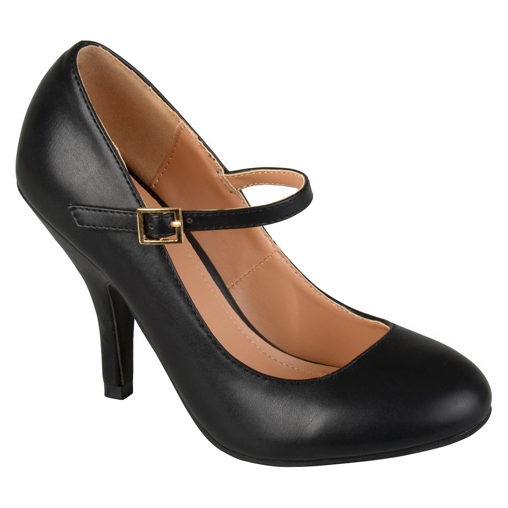 Womens Journee Collections Lezley Mary Jane Pumps - Black 8.5