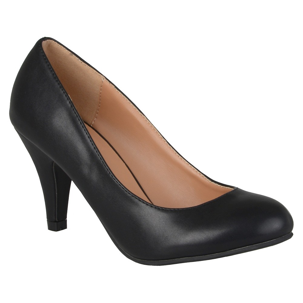 Womens Journee Collection Retire Pumps - Black 8