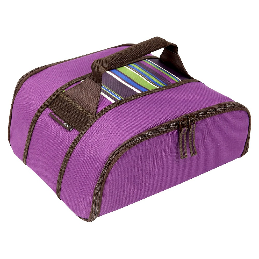 Rachael Ray Stowaway Potlucker - Purple Stripe, Grape Jelly