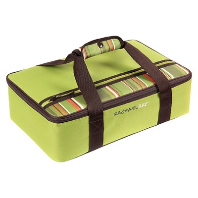 Rachael Ray Lasagna Lugger - Green Stripe