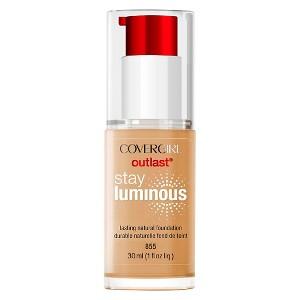 Covergirl Stay Luminous Foundation 855 Soft Honey 1Fl Oz