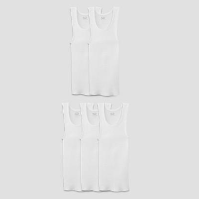 36090471920ede Fruit of the Loom® Boys 5pk Tank Undershirt – White L – Target ...