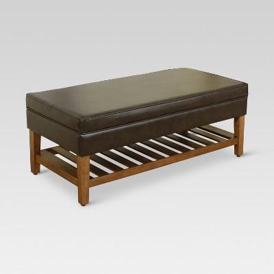 Rockville Storage Ottoman - Threshold™