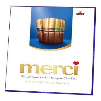 Merci Milk Chocolate Variety Assortment - 7oz