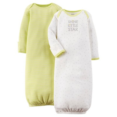 Just One You™ Made by Carter's® Baby Nightgown - Green 0-3M
