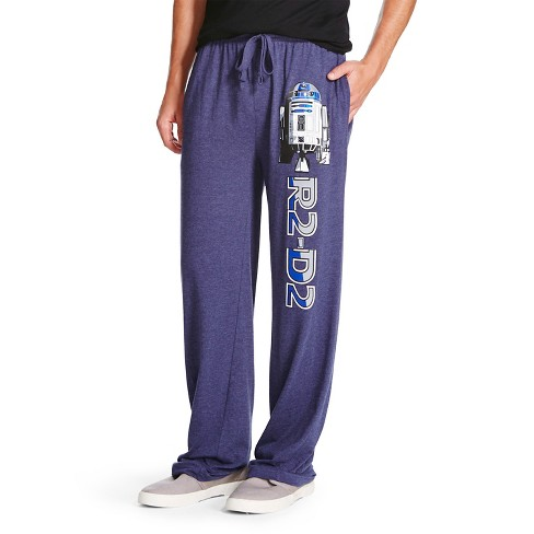 Men's Star Wars Logo Lounge Pants Dark Denim - image 1 of 2