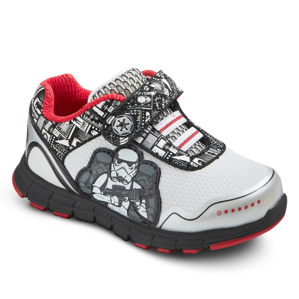 Toddler Boys Star Wars Rebel Sneakers - Black 8