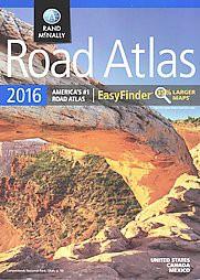 Rand McNally 2016 Road Atlas EasyFinder (Paperback)