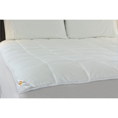 Outlast Temperature Regulating Mattress Pad White (King)