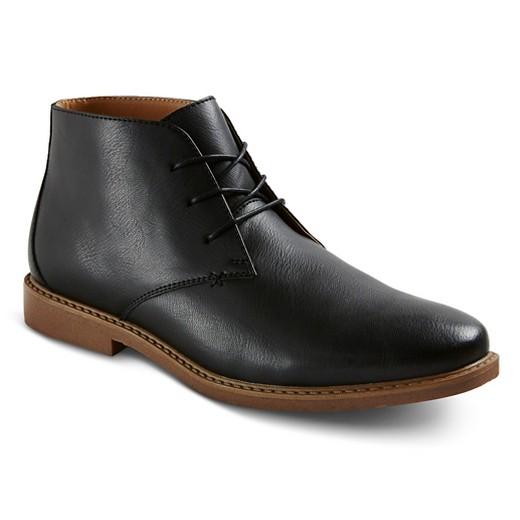 Men's Earl Chukka Boots - Black - Merona™ : Target
