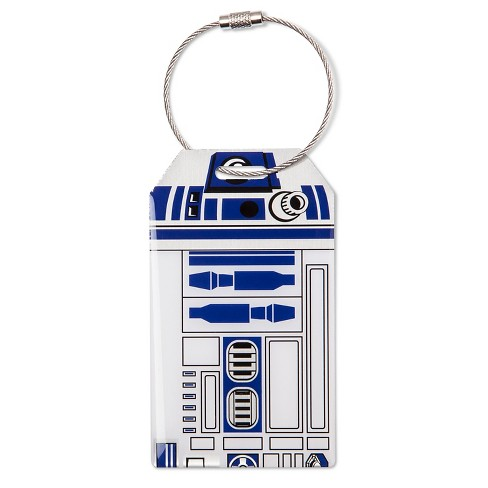 Star Wars® R2D2® Luggage Tag -White/Blue - image 1 of 2