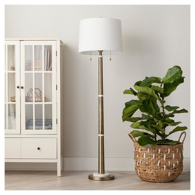 Franklin Floor Lamp - Brass - Threshold™