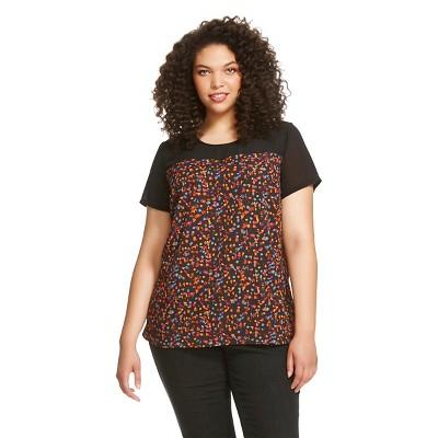 Women's Plus Size Blouses Multi-Colored 2X - Ava & Viv™