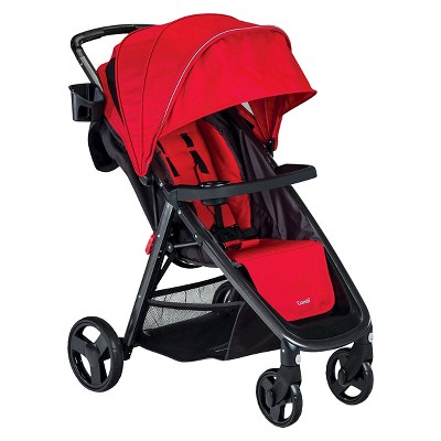 Combi Fold 'N Go Single Stroller - Red