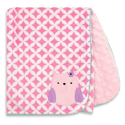 Baby Owl Valboa Blanket with Satin Piping - Just One You™ Made by Carter's® Purple