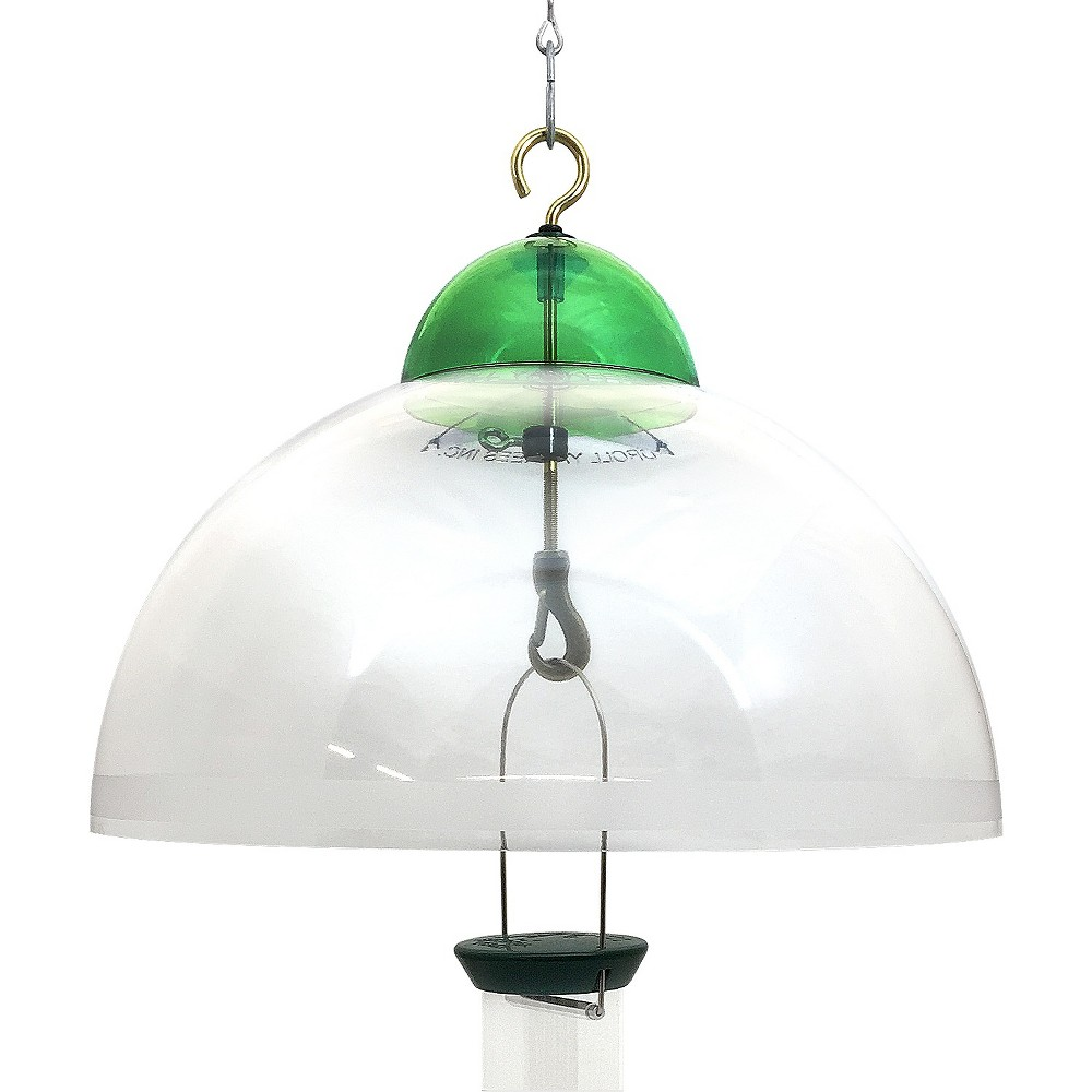 Droll Yankees Squirrel & Weather Guard with Green Accents