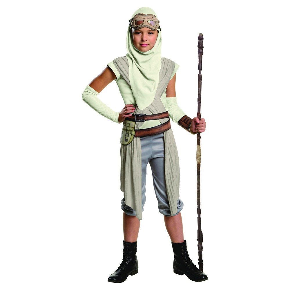 Star Wars: Episode Vii Rey Adult Eyemask Hood Costume Accessory- One Size Fits Most, Adult Unisex, Multi-Colored