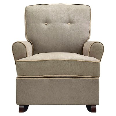 Dorel Tinsley Upholstered Glider