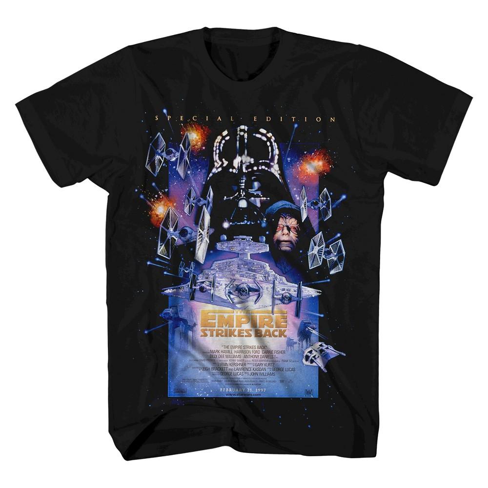 Mens Star Wars T-Shirt - Black M