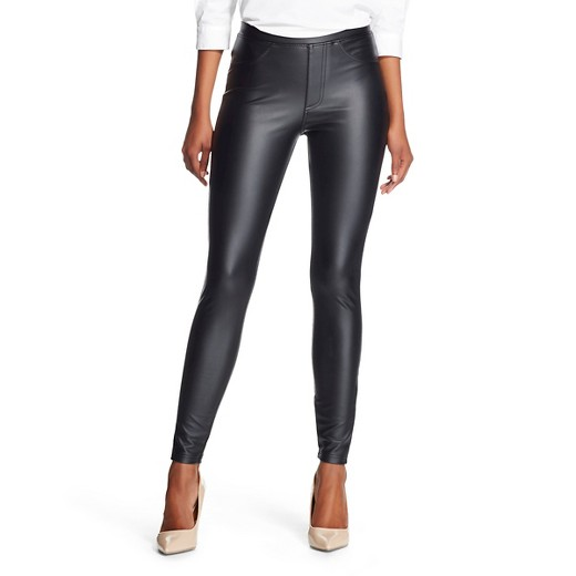 Women's Jeggings Faux Leather Black - Xhilaration™ : Target