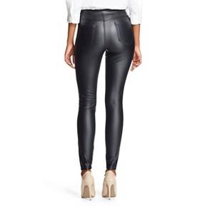 Women's Jeggings Faux Leather Black - Xhilaration™ : Target