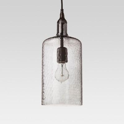 Artisan Glass Bottle Pendant - Indigo - Threshold™