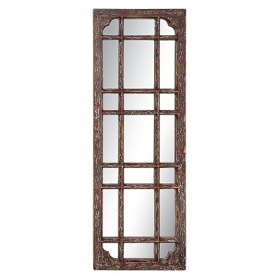 Rectangle Wood Framed Decorative Wall Mirror - 3R Studios