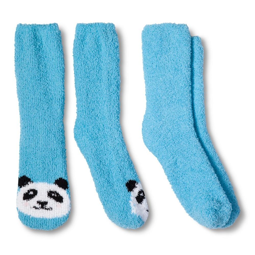 Womens Casual Socks - Xhilaration Turquoise 4-10, Turquoise Panda