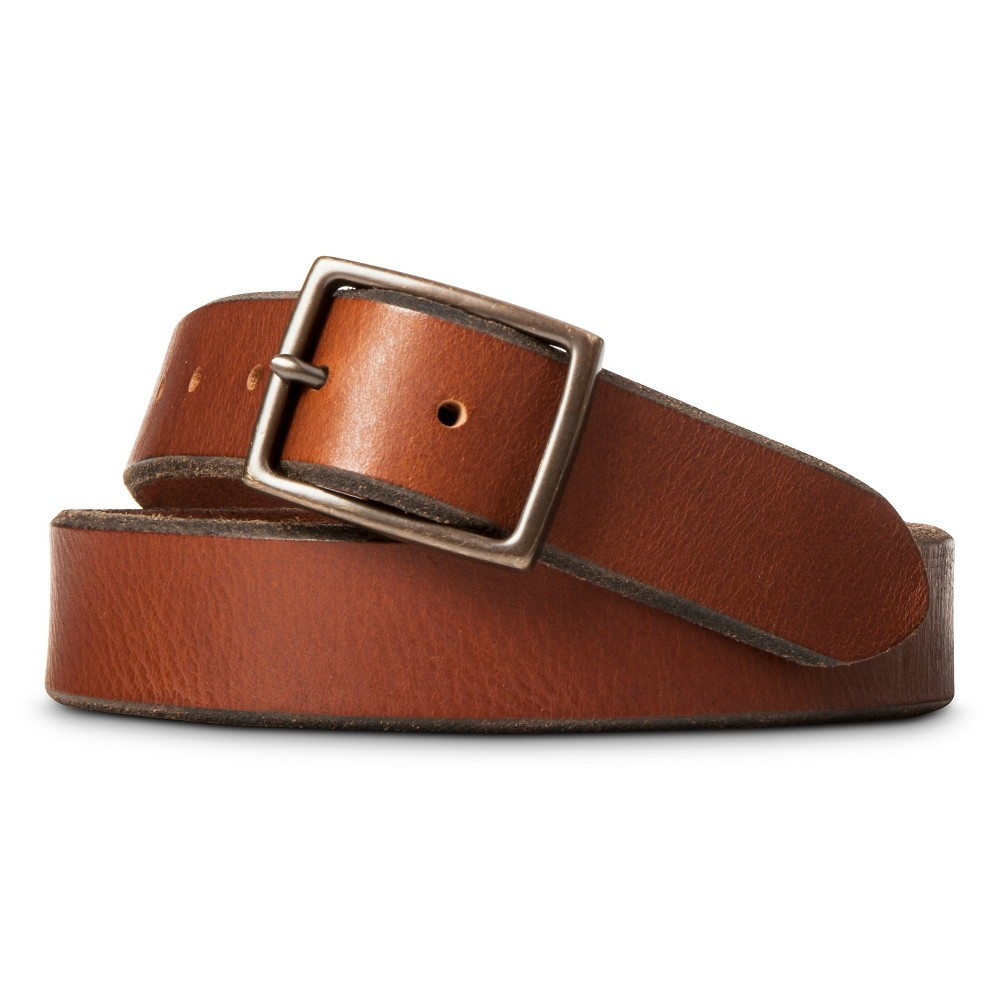Mens Centerbar Belt Brown XL - Merona, Size: XL(40-44)