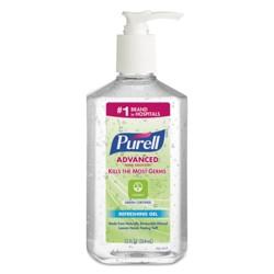 PURELL Advanced Green Certified Instant Hand Sanitizer Gel 12oz Pump Bottle Clear