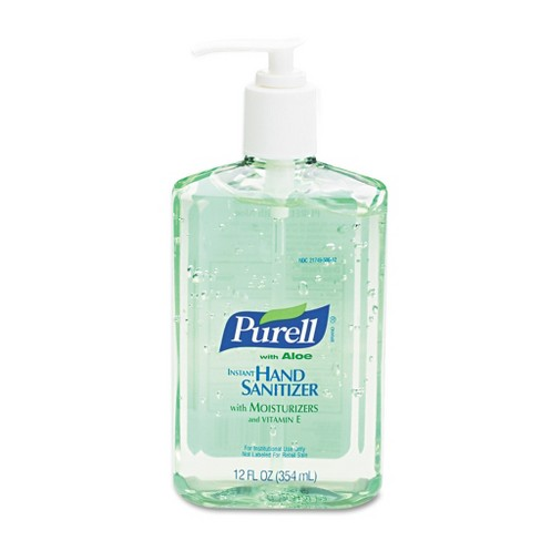PURELL Advanced Instant Hand Sanitizer with Aloe 12oz Pump Bottle - image 1 of 1