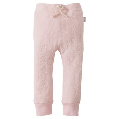 Burt's Bees Baby™ Girls' Organic Quilted Pant - Blossom 3-6M