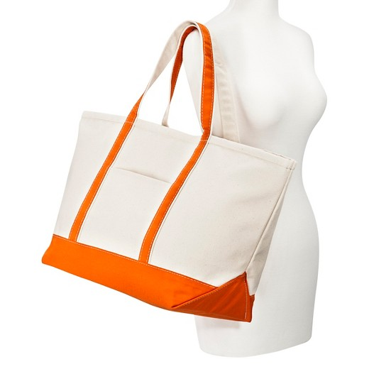 CB Station Women's Heavyweight Cotton Canvas Tote Handbag with ...