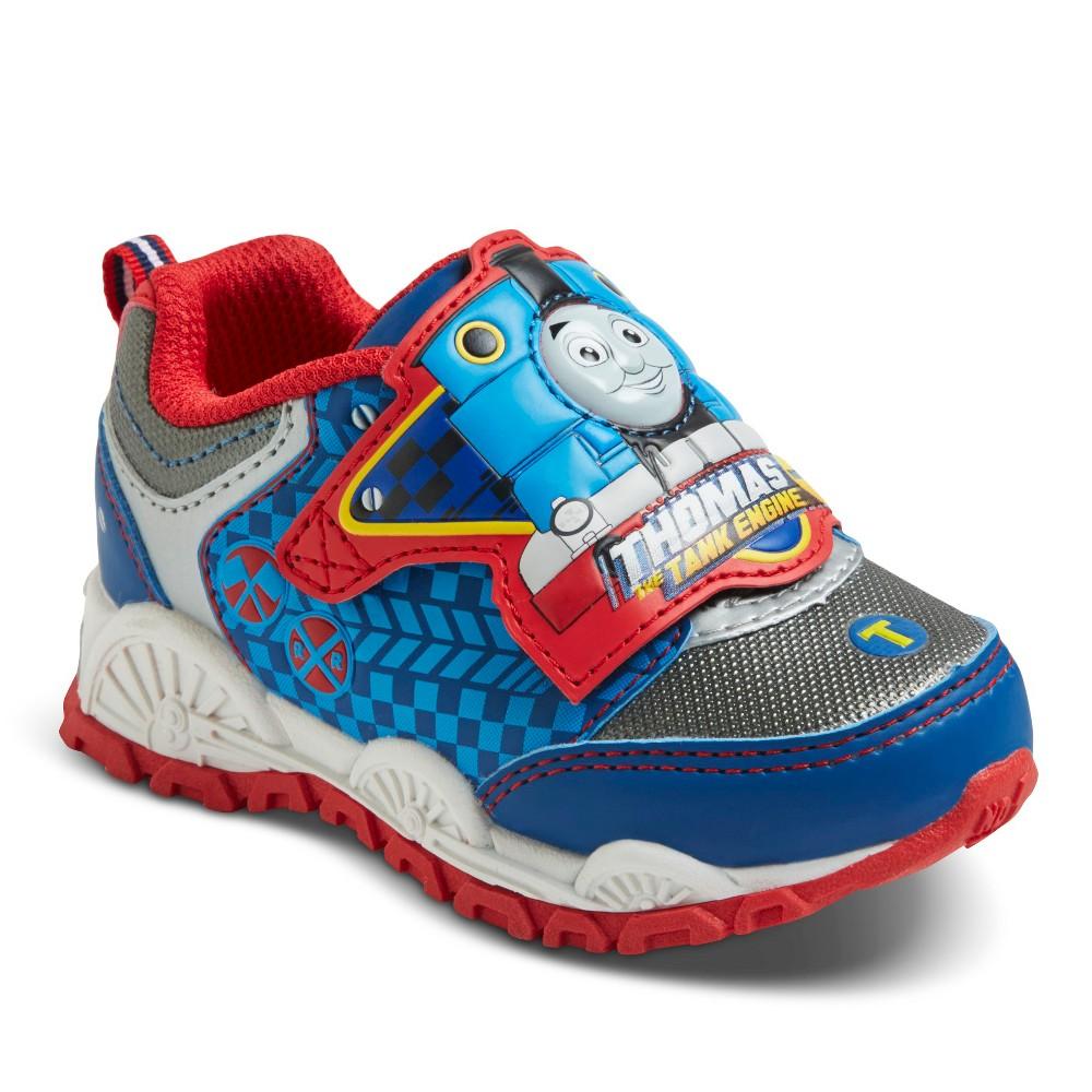Toddler Boys Thomas the Tank Engine Sneakers - Gray 5