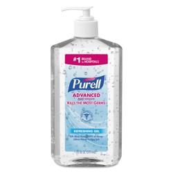 PURELL Advanced Instant Hand Sanitizer 20oz Pump Bottle