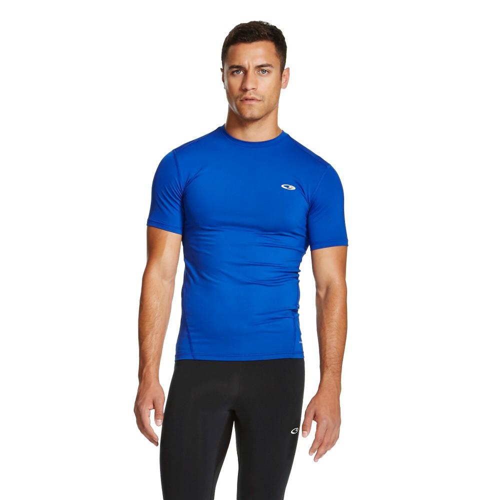 Mens Powercore Compression Shirt - C9 Champion Blue Xxl