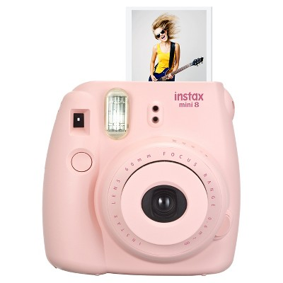 Fujifilm Instax Mini 8 Camera - Pink (16273415)