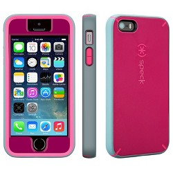 Speck iPhone 5/5S/SE MightyShell + FacePlate Fuchsia