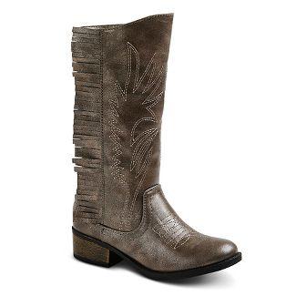 toddler girl fringe boots : Target