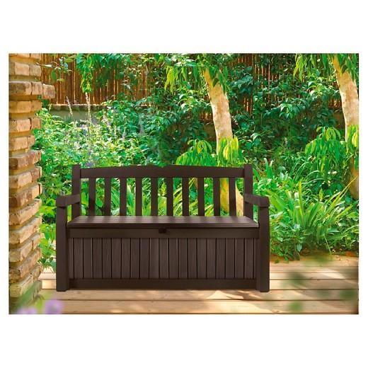 loved 314 times 314. Eden Garden Storage Bench   Brown   Keter   Target