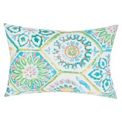 Veranda Handmade Polyester Throw Pillow - Jaipur